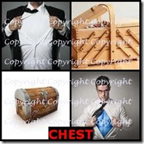 CHEST- 4 Pics 1 Word Answers 3 Letters
