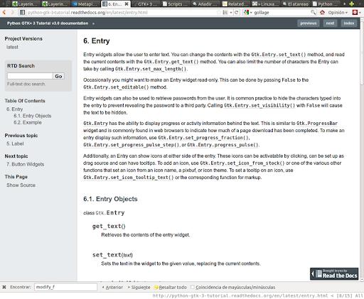 Un excelente tutorial para migrar a GTK+ 3 con Python