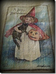 Little Witch Towel