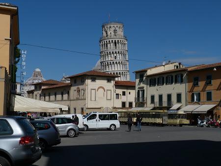 Turnul din Pisa la prima vedere