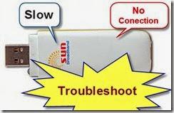 Troubleshoot Sun Broadband