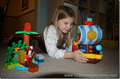 LEGO® DUPLO® Jake and the Neverland Pirates Set is fun for Preschool - 3rd grade