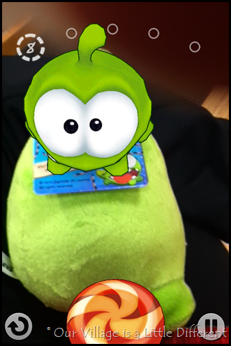 Cut the Rope AR Game