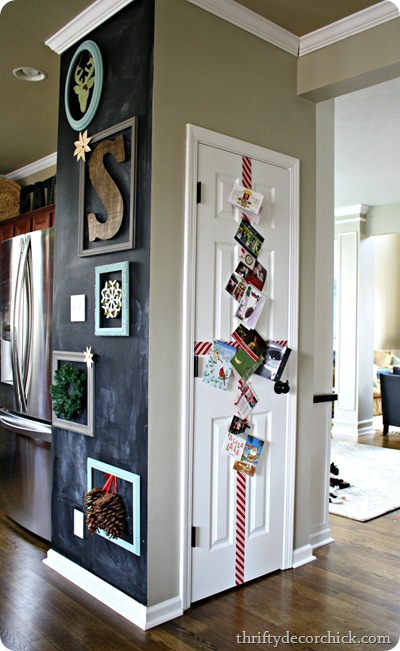 easy door holiday card display