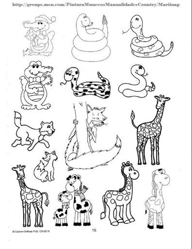 Manualidades De Animales Domesticos Para Preescolar Para Colorear