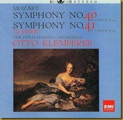 Klemperer Mozart 40 41 Japon