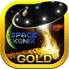 Space Xonix Gold[Full Free, no ads, no scum] icon