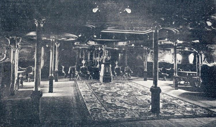 Gran salón comedor. Revista Vida Maritima. Año 1906.JPG