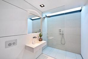 Baño-moderno-con-claraboyas
