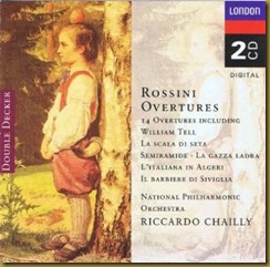Rossini Oberturas Chailly National