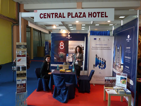 Hotel Central Plaza Piatra Neamt la targ turism