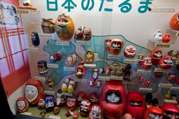 日本輕井澤世界各地福達摩
