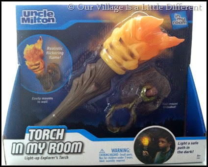 The Torch In My Room Explorer's Torch by Uncle Milton Toys