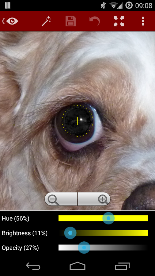 Red Eye Removal- screenshot