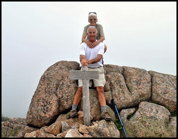 02n2 - Pemetic Mtn Hike -Bill and Nancy Pemetic Summit
