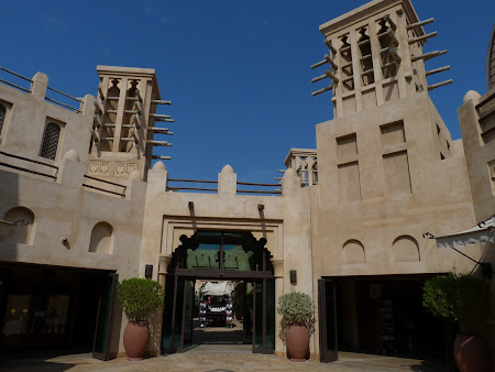 Shopping Dubai: turnuri la mall - Madinat Jumeirah