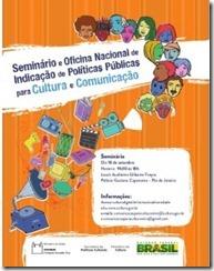 Seminário Nacional de Comunicação para a Cultura