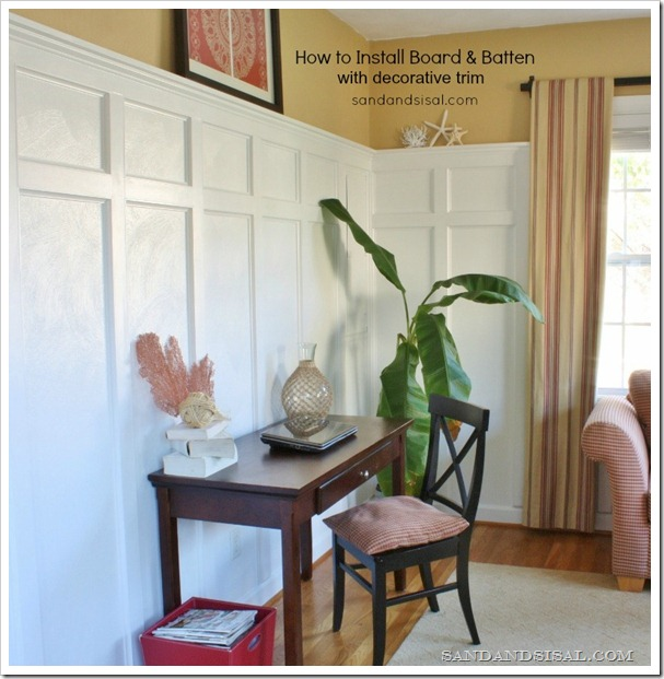 How to Install Board and Batten by Sand & Sisal