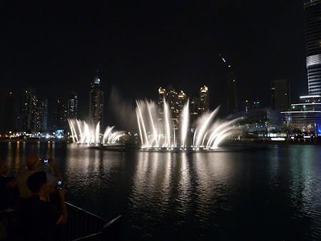 Dubai Mall: joc fantani Dubai