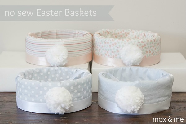 No Sew Easter Baskets 13