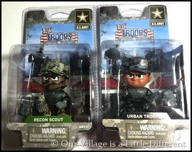 Lil Troops Figures