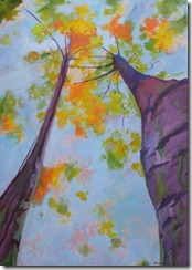 tree painting landscape