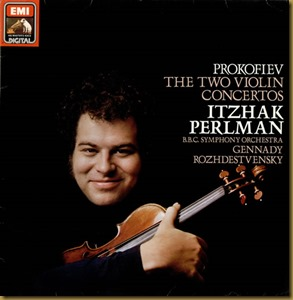 Prokofiev concierto violin 1 Rozhdestvensky Perlman