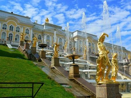 Circuit Rusia: Palatul si fantanile Petrodvaret