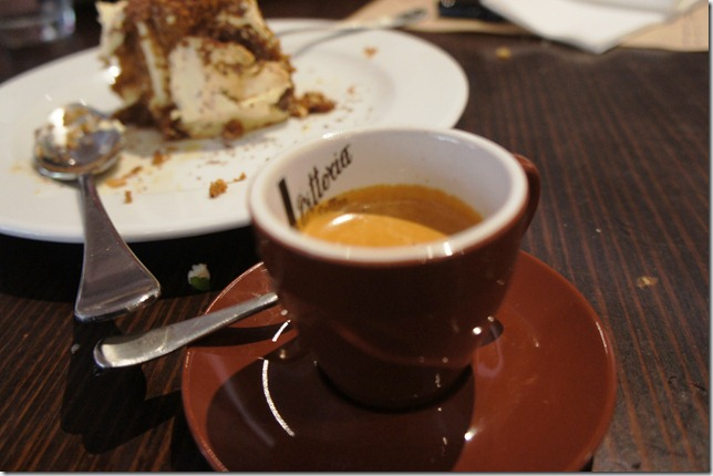 espresso at Fratelli Fresh