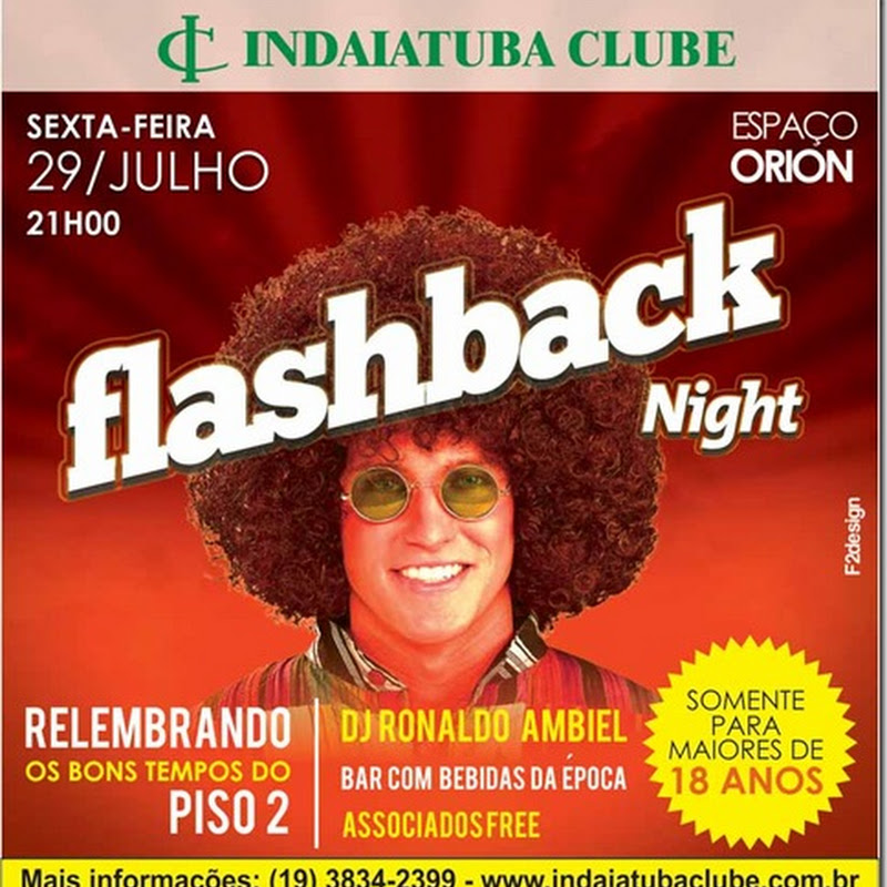 FlashBack Night do Indaiatuba Clube