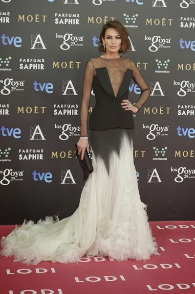 Nieves Alvarez attends Goya Cinema Awards