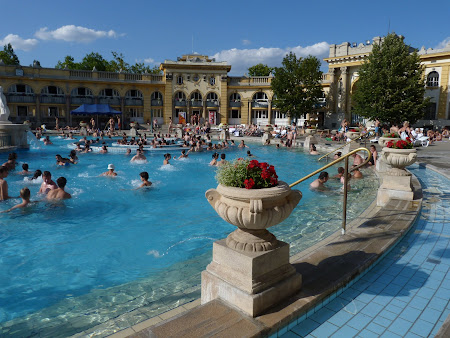 Spa Budapesta: Szechenyi baths