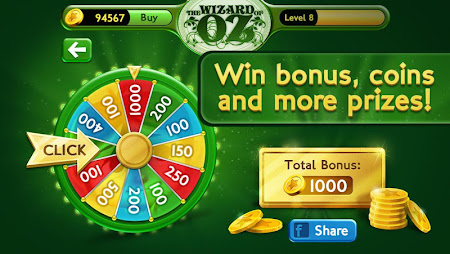 Slots Wizard of Oz 1.0.9 screenshot 38147