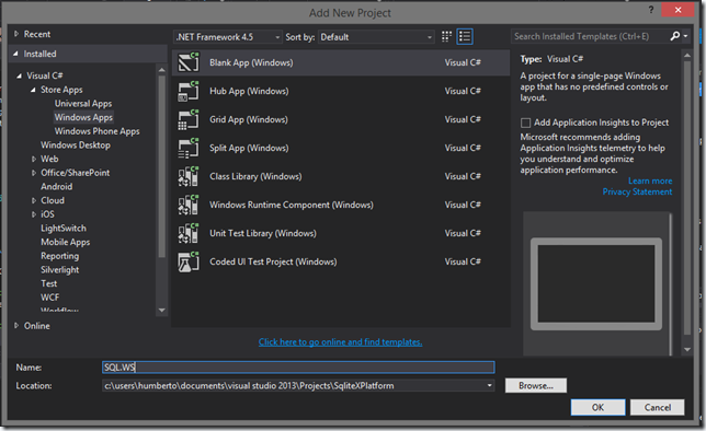 Humberto Jaimes: Usando SQLite  NET multiplataforma en