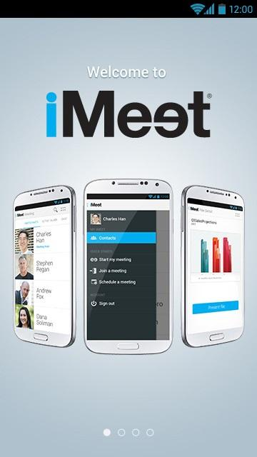 iMeet - screenshot
