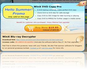Licencia WinX Blu-ray Decrypter