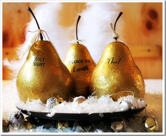 Gilded-Pears @Cupcakes-and-Crinoline