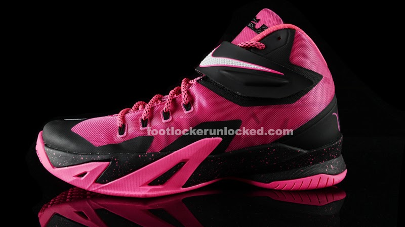 "Release Reminder: Nike Zoom LeBron Soldier 8 ""Think Pink ..."