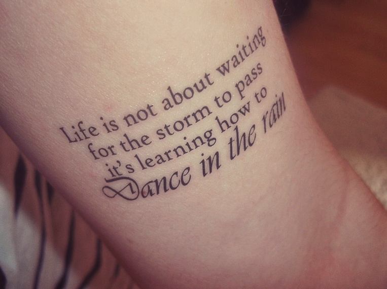 Dance Quotes For Tattoos