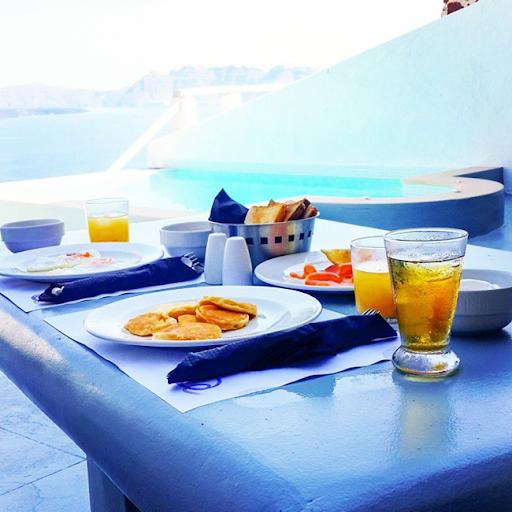 PHOTOS: Sylvia Nduka And Ene Maya's Vacation in Santorini Greece 3