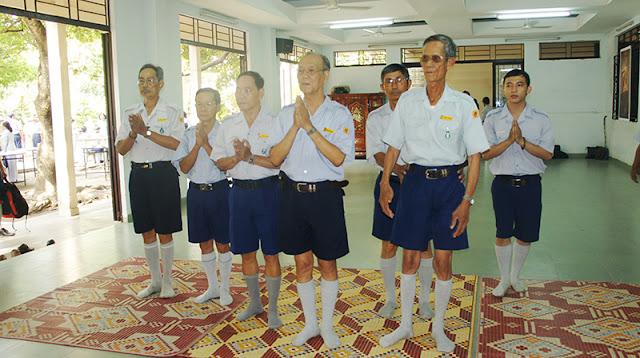 DSC06280 Lễ Hiệp kỵ   Lễ Huý Nhật Cư sĩ Sáng lập viên GĐPT Việt Nam   Tâm Minh Lê Đình Thám