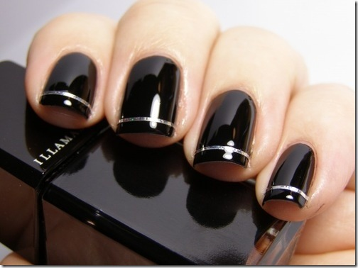 Illamasqua black nails