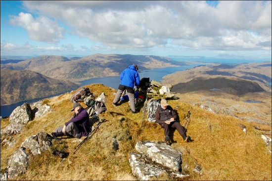 JOHN HESP'S PICCY ON SGURR BREAC