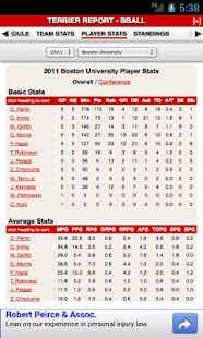 Boston University Basketball - screenshot thumbnail