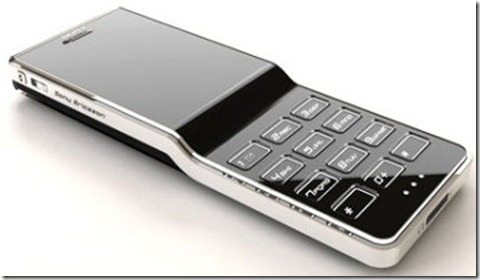 Sony Ericsson black diamond: Intelligent Computing
