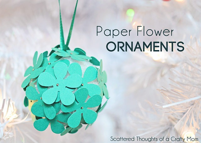 paper punch ornament