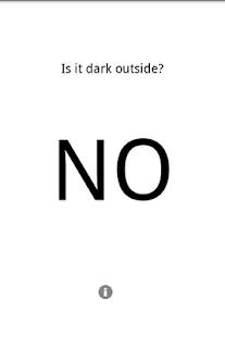 Is it dark outside – Miniaturansicht des Screenshots