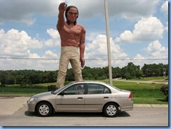 9917 Cross Plains, Tennessee - Muffler Man - Indian