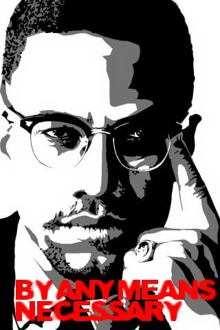 Malcolm X Live Wallpaper - screenshot