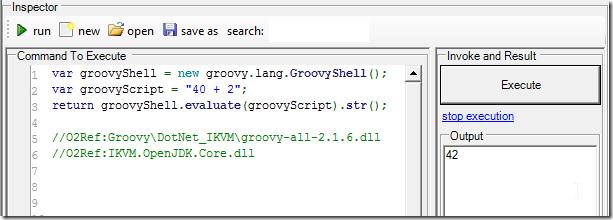 Dinis Cruz Blog: Running Groovy natively in  NET using IKVM